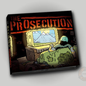 The Prosecution At The Edge Of The End CD
